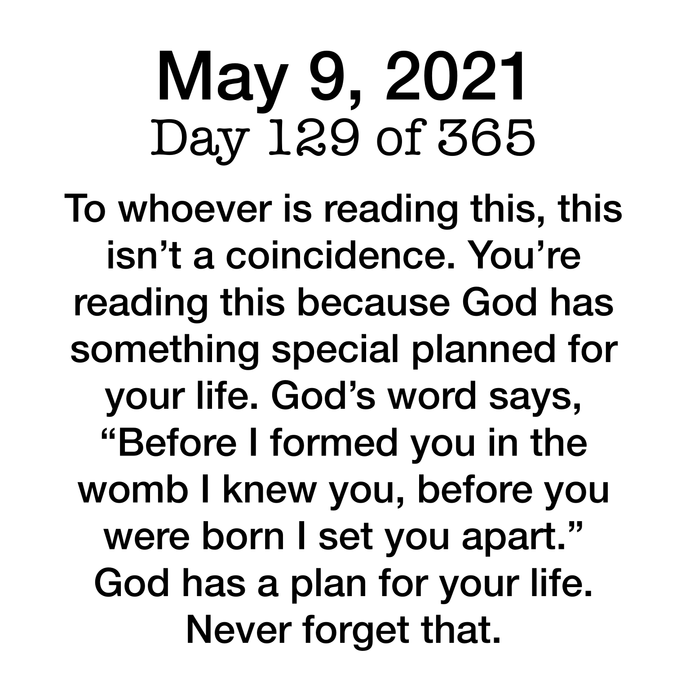 Devotional Day 129