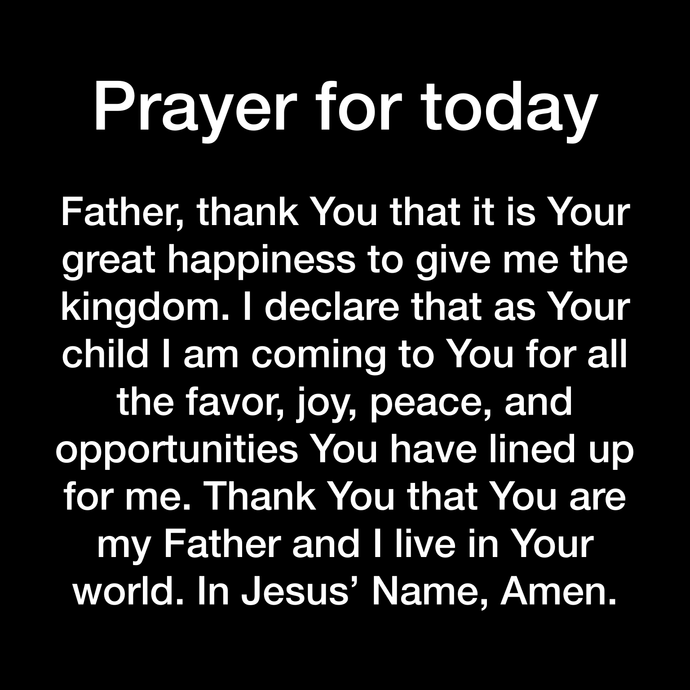Prayer Day 138