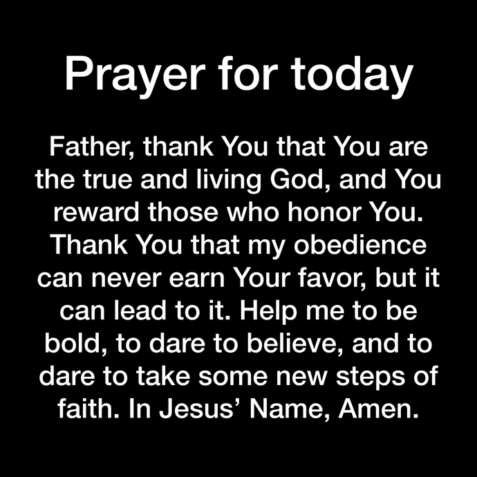 Prayer Day 134