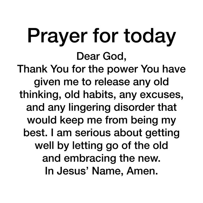 Prayer Day 107