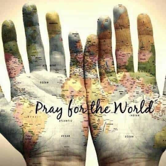 Pray for the world 🙏