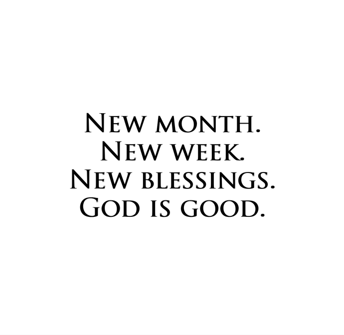 All things new 🙏