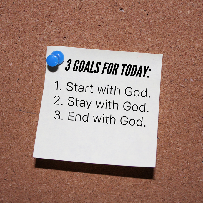 Goals for today 🙏