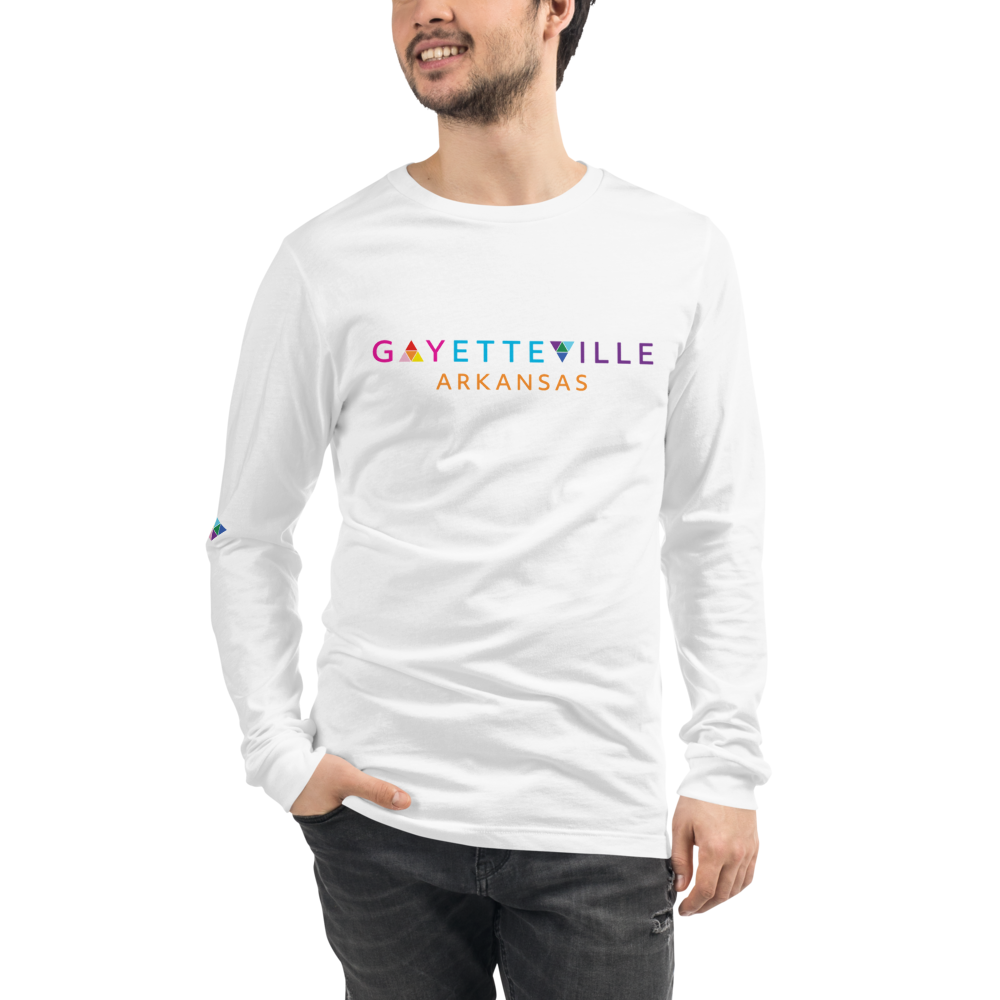 Gayetteville | Gender Neutral Long Sleeve Tee