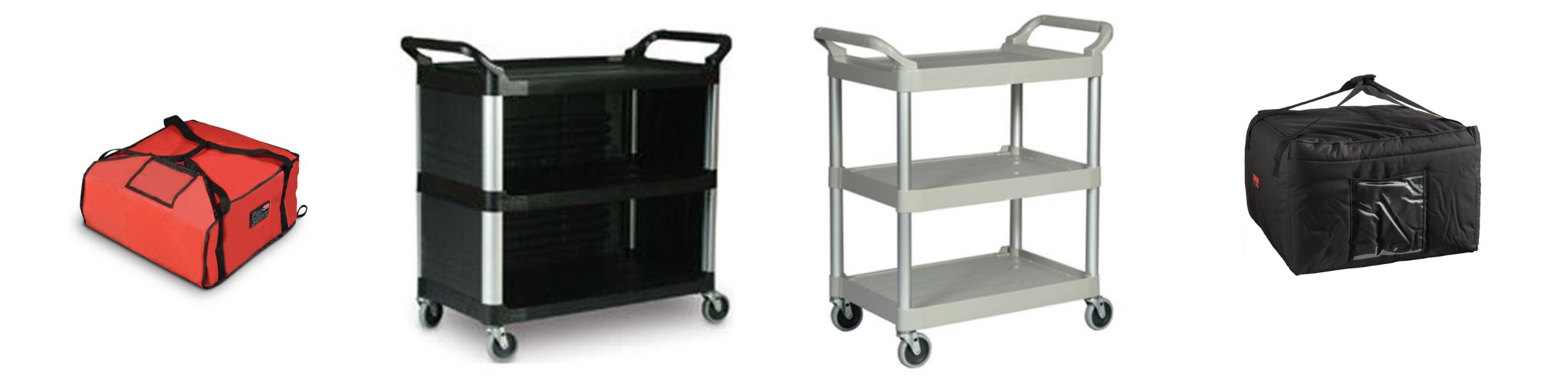 ChefEquipment.com delivery bags and utility carts