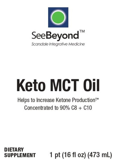 Keto MCT oil 16oz