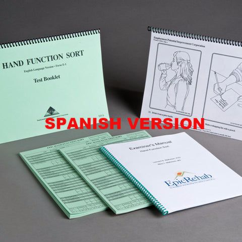 Hand Function Sort Kit - SPANISH Version