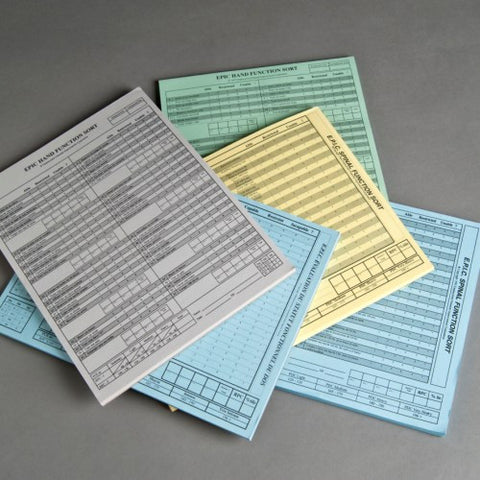 Multidimensional Task Ability Profile Replacement Answer Pads