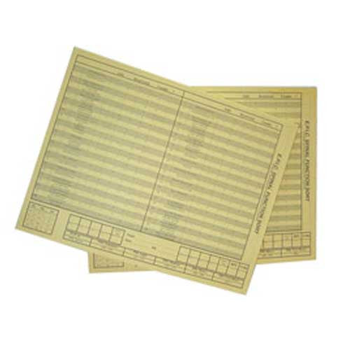Spinal Function Sort Replacement Answer Pads