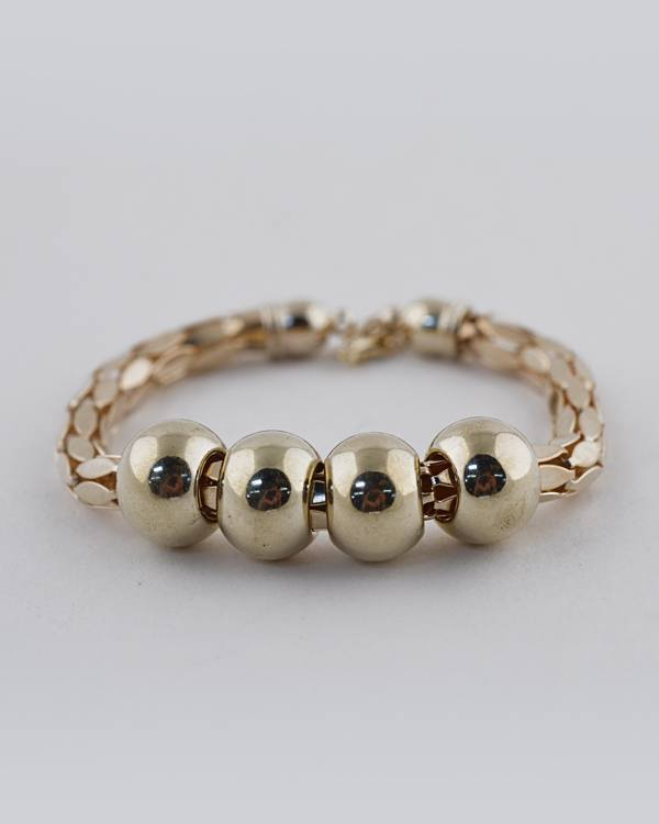 Golden Beaded Adjustable Bracelets - CYFASHION