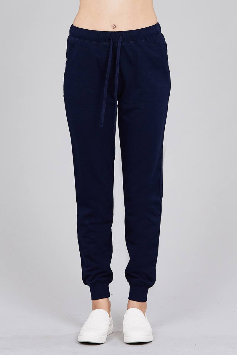 French Terry Jogger Pants - CYFASHION