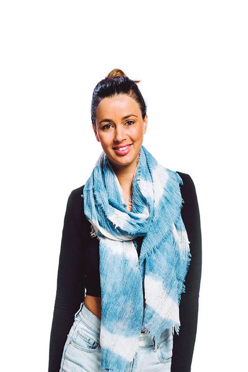 Tie Dye Oblong Scarf - CYFASHION