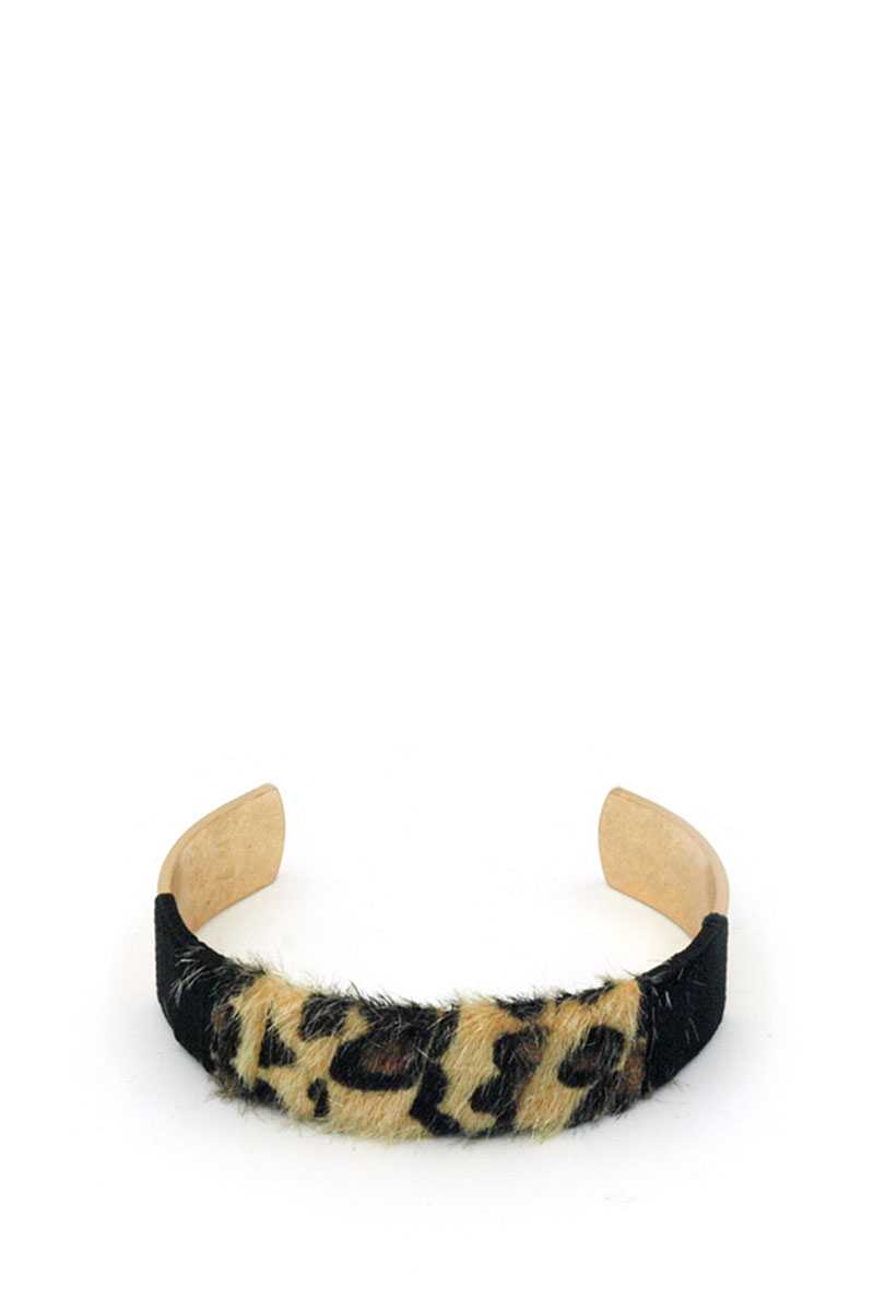 Trendy Animal Skin Pattern Bracelet - CYFASHION