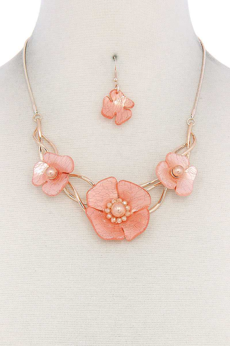 Floral Necklace - CYFASHION