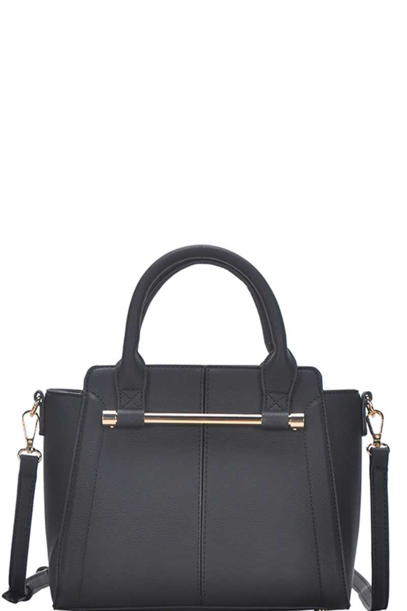 Chic Fashion Stylish Satchel Bag With Long Strap - CYFASHION