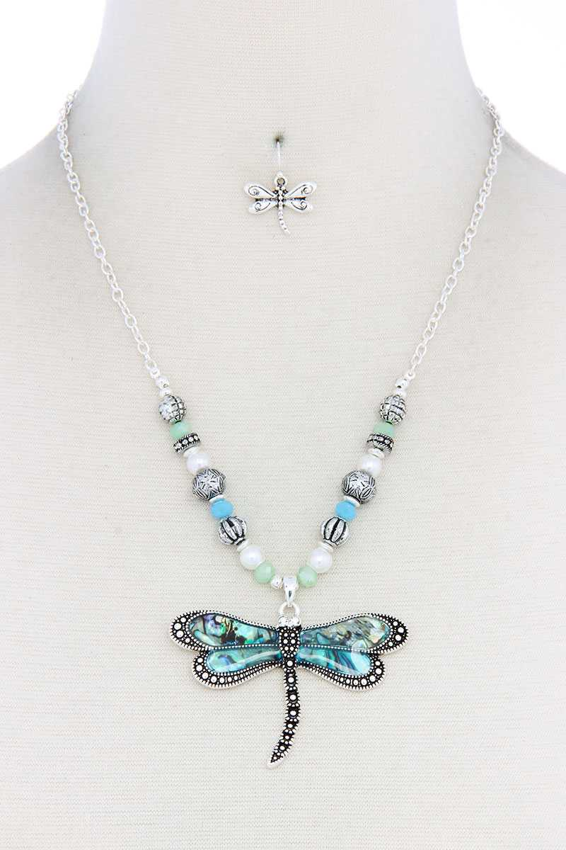 Dragonfly Pendant Necklace - CYFASHION