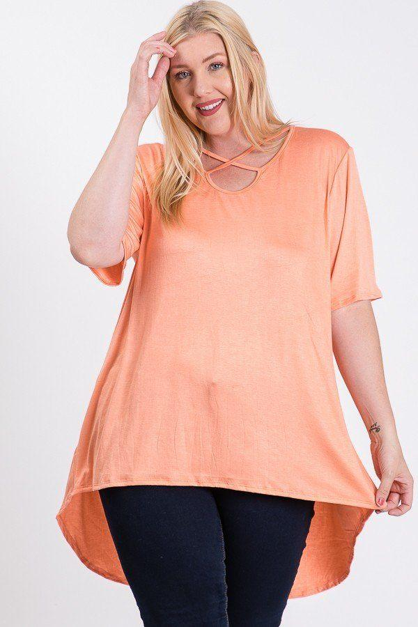 Relaxed Fit Tunic - CYFASHION
