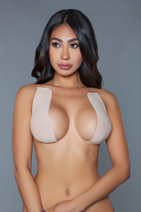 Waterproof Sweatproof Anti-shedding Adhesives Bras - CYFASHION