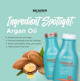 Beaver Argan Oil of Morocco Conditioner - 350ml (for Damaged Hair)