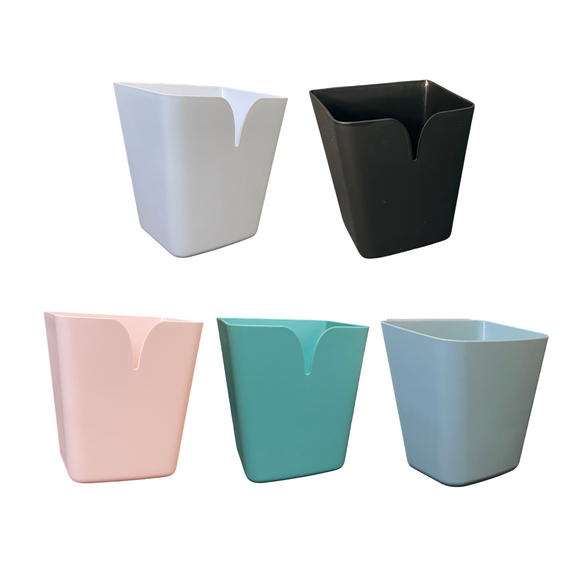 Hanging Storage Bucket for Trolley Cart (Square-shaped)
