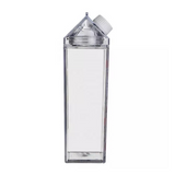 Milk Karton Shaped Clear Water Bottle
