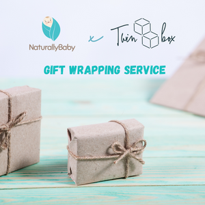 NaturallyBaby X Twinbox Gift Wrapping Service