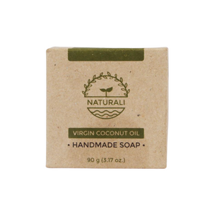 Naturali Premium Cold-Pressed Virgin Coconut Oil Soap