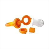 Naturebond Baby Fruit & Food Feeder - Sunshine Orange and Lemonade Yellow