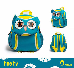 Qrose Pet Backpack: Hooty The Blue Owl
