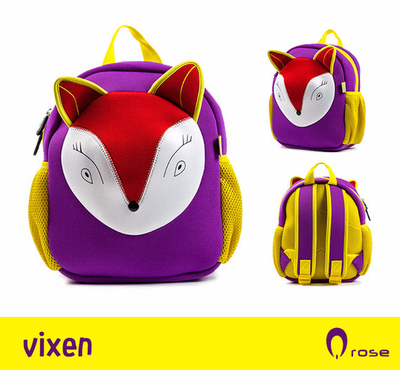 Qrose Pet Backpack: Vixen The Fox