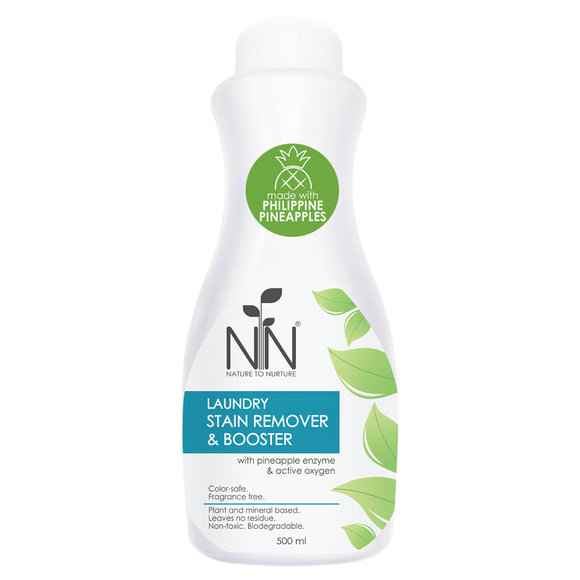 Nature to Nurture Laundry Stain Remover & Booster 500ml