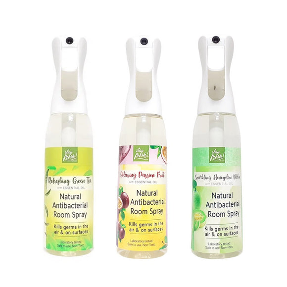 NEW SCENTS! Stayfresh! Canada Natural Antibacterial Ultramist Spray (500ml)