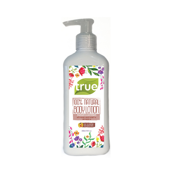 True 100% Natural Adult Body Lotion - 230ml
