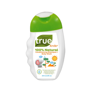 True Kinder 100% Natural Conditioning Shampoo + Body Wash - 250ml