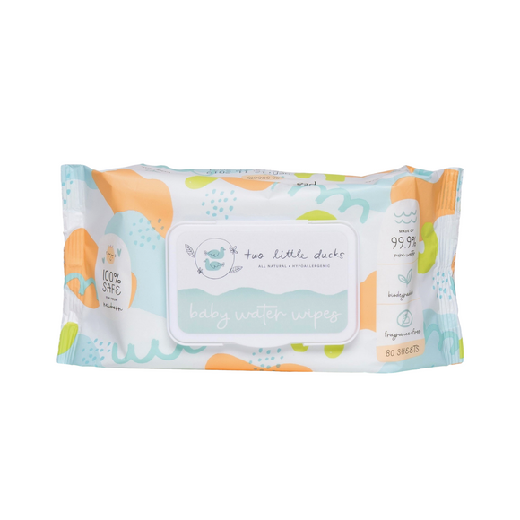 Two Little Ducks Baby Water Wipes