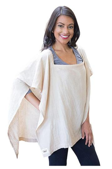 Poncho Baby® Organic Nursing Cover (Square-shaped)