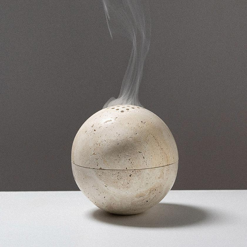 Sphere Incense Burner by Addition Studio
