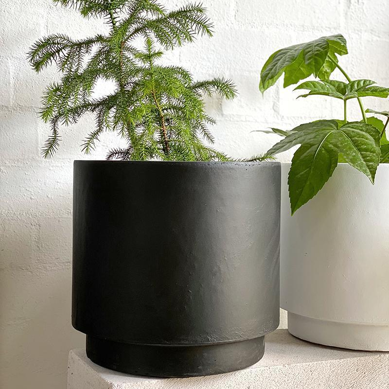 High Line Planter in Charcoal