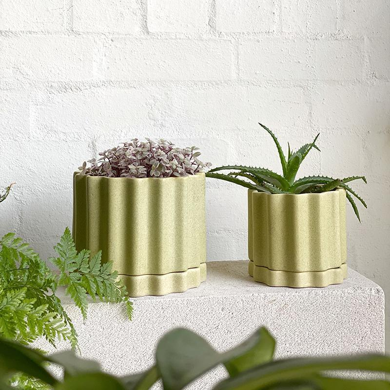 Wheat Tilde Planter by Ella Reweti