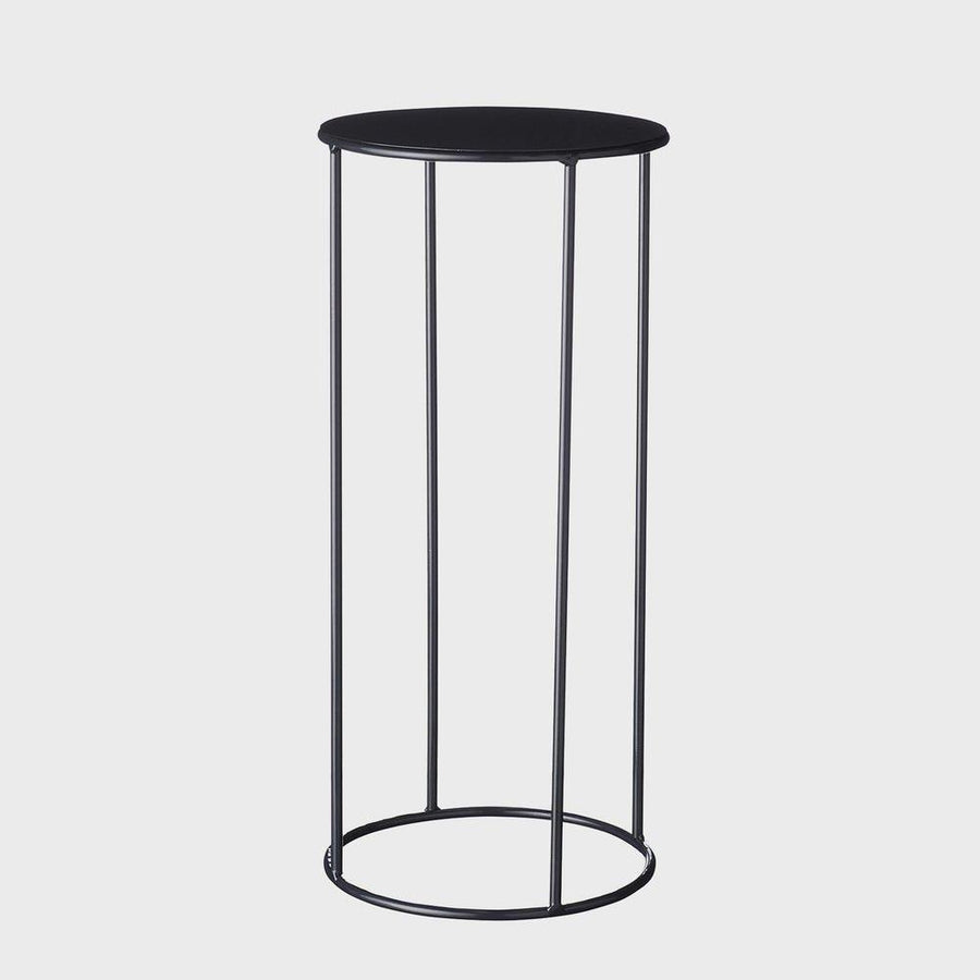 Lotus Plant Stand in Black by Evergreen Collective