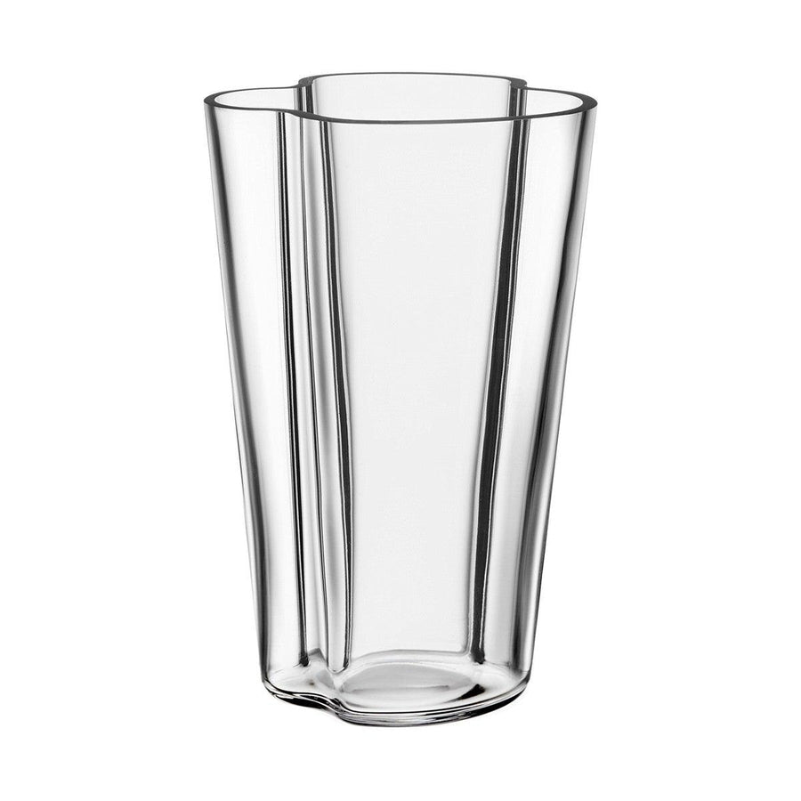 Alvar Aalto Vase Tall Clear Scandinavian design homewares