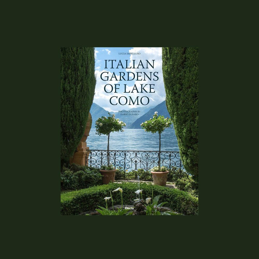 Italian Gardens Of Lake Como by Lucia Impelluso