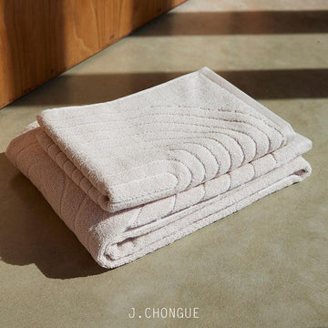 Cove Bath Towel in Clay by Baina J Chongue bathroom homeware homewares gift gifts