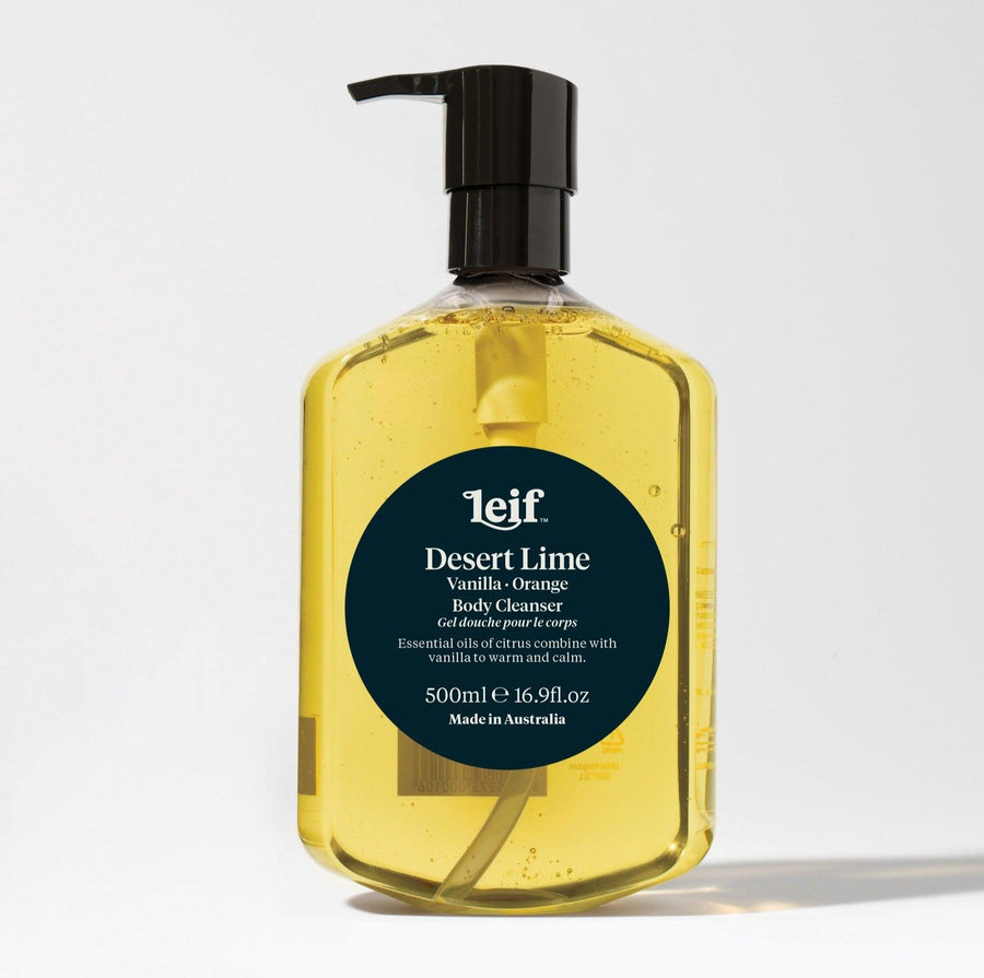 Desert Lime Body Cleanser by Leif