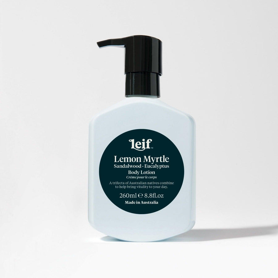Lemon Myrtle Body Lotion by Leif