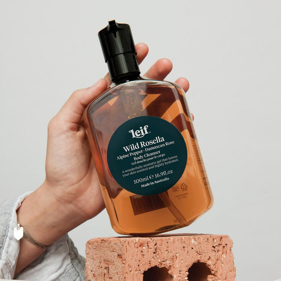 Wild Rosella Body Cleanser by Leif