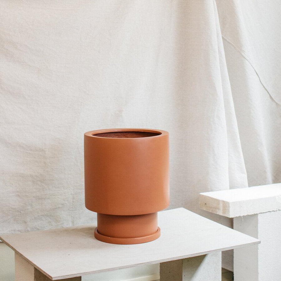 Low Tower Planter by The Plant Society x Capra Designs- Totem Collection -