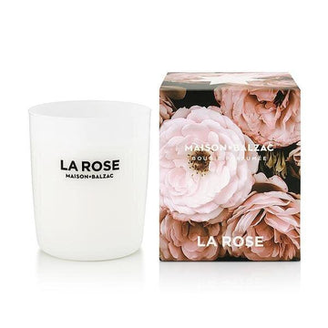 La Rose Candle by Maison Balzac