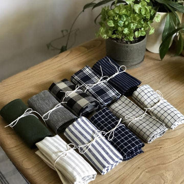 Linen Tea Towel by Fog Linen