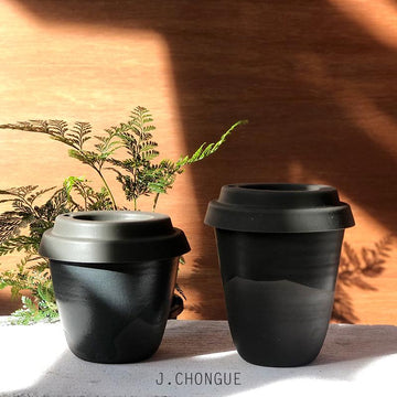 Noir Travel Cup by Arcadia Scott - THE PLANT SOCIETY ONLINE OUTPOST
